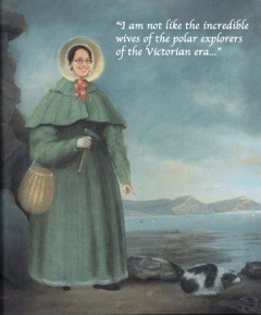 I wrote this blog post. Picture by Per Ahlberg, combining posthumous portrait of Mary Anning by B. J. Donne (Wikipedia) and photo of Katarzyna Zaremba-Niedzwiedzka (Uppsala University).
